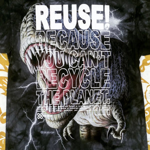 One of a Kind (Men's M) REUSE! Tee Rex