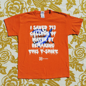 One of a Kind (Kids L) I Saved 713 Crazy Fish T-Shirt