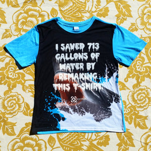 One of a Kind (Kids XL) I Saved 713 Great White Lunge T-Shirt