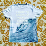One of a Kind (Men's M) I Saved 713 Waves T-Shirt