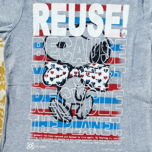 One of a Kind (Women's XL) REUSE! Charlie's Bow Tie Buddy T-Shirt