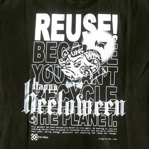 One of a Kind (Men's L) REUSE! Happy Carolina Halloween T-Shirt
