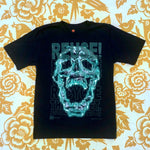 One of a Kind (Kid's L) REUSE! Glowing Skull T-Shirt