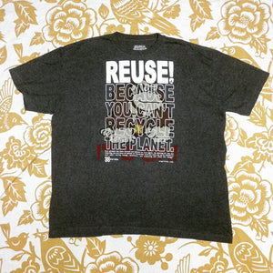 One of a Kind (Men's XXL) REUSE! Barrel Roller T-Shirt