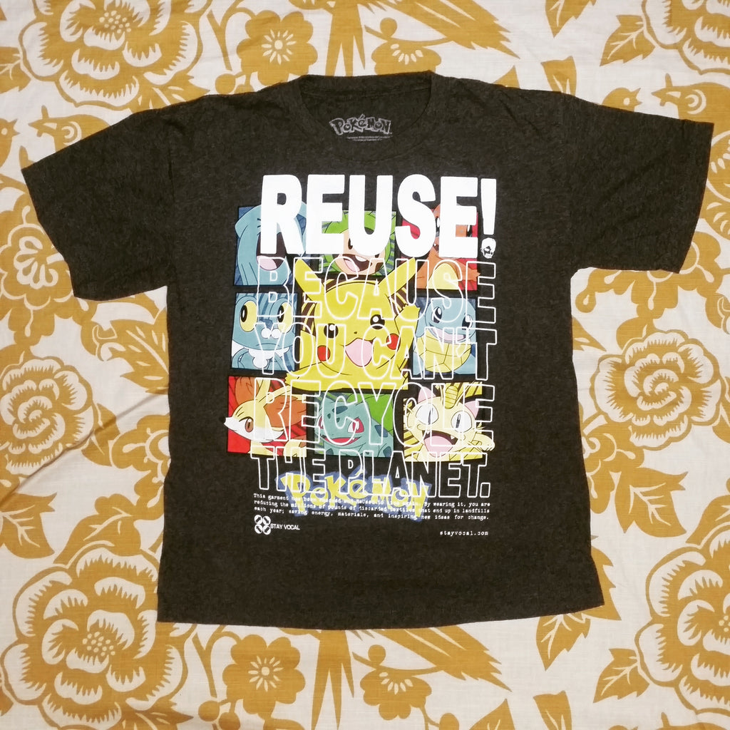 One of a Kind (Kid's M) Gotta REUSE! 'Em All T-Shirt