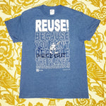 "One of a Kind (Men's M) REUSE! Puzzle ""Piece Out"" T-Shirt"