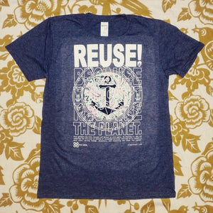 One of a Kind (Men's M) REUSE! Cape Cod Anchor T-Shirt