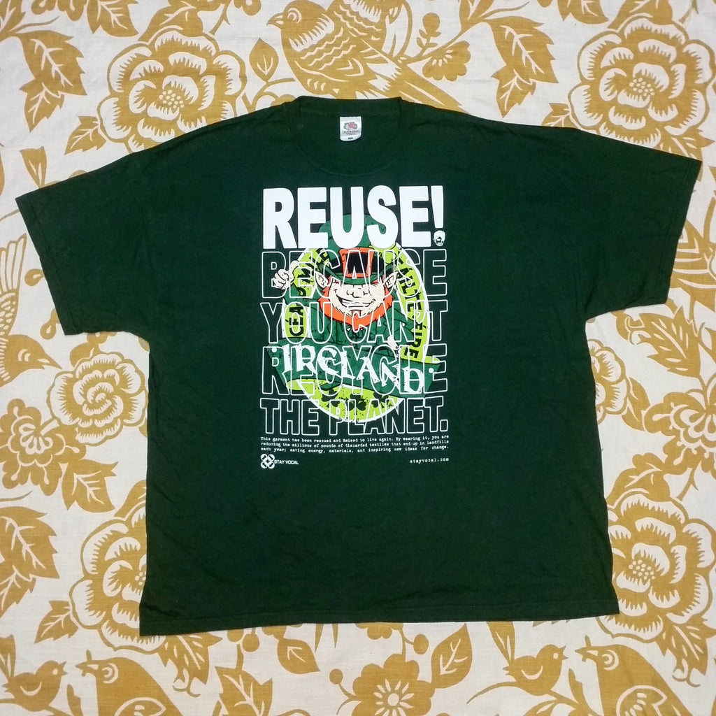 One of a Kind (Men's XXL) REUSE! Ireland Leprechaun T-Shirt
