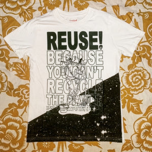 One of a Kind (Kids L) REUSE! Astronaut Mop T-Shirt