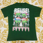 One of a Kind (Men's M) REUSE! Underage Festive Reptiles T-Shirt