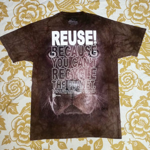 One of a Kind (Men's M) REUSE! Brown Lab T-Shirt