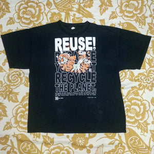 One of a Kind (Men's XL) REUSE! Tiger Roll T-Shirt