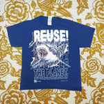 One of a Kind (Kid's M) REUSE! Great White Shark in Ft. Lauderdale T-Shirt