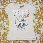 One of a Kind (Women's M) REUSE! Sailor Lady T-Shirt