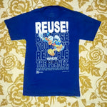 One of a Kind (Men's S) This Duck Wants You To REUSE! T-Shirt