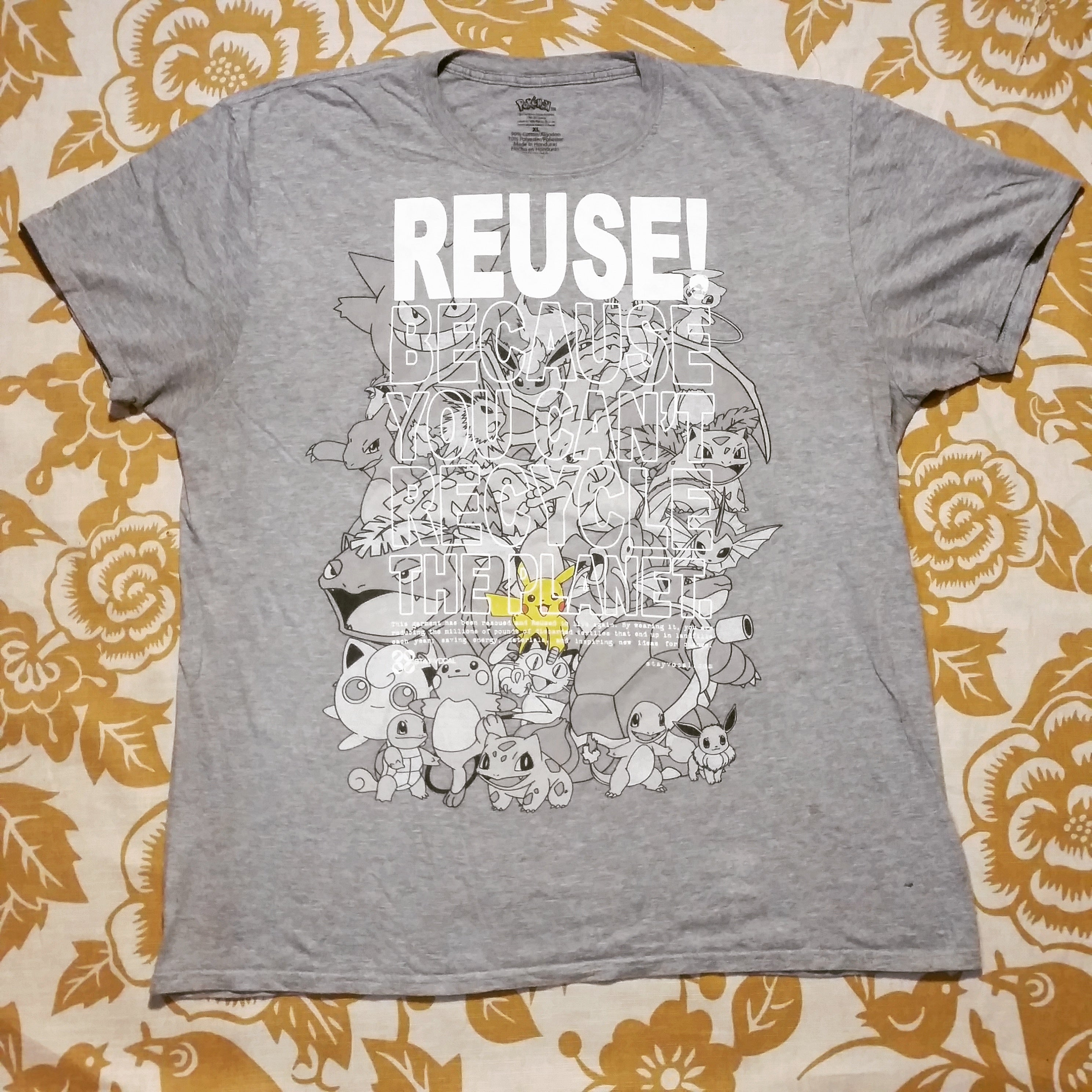 One of a Kind (Men's XL) REUSEACHU! and Friends T-Shirt