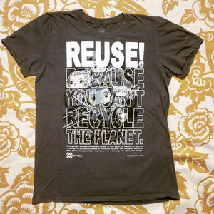 One of a Kind (Men's XS) War in The Stars: The REUSE! Awakens T-Shirt