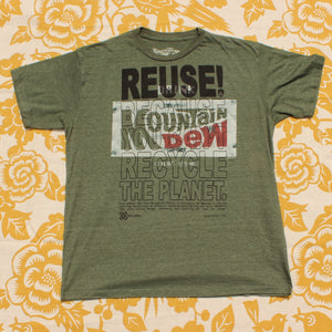 One of a Kind (Men's M) REUSE! Vintage Mt. Caffeine T-Shirt