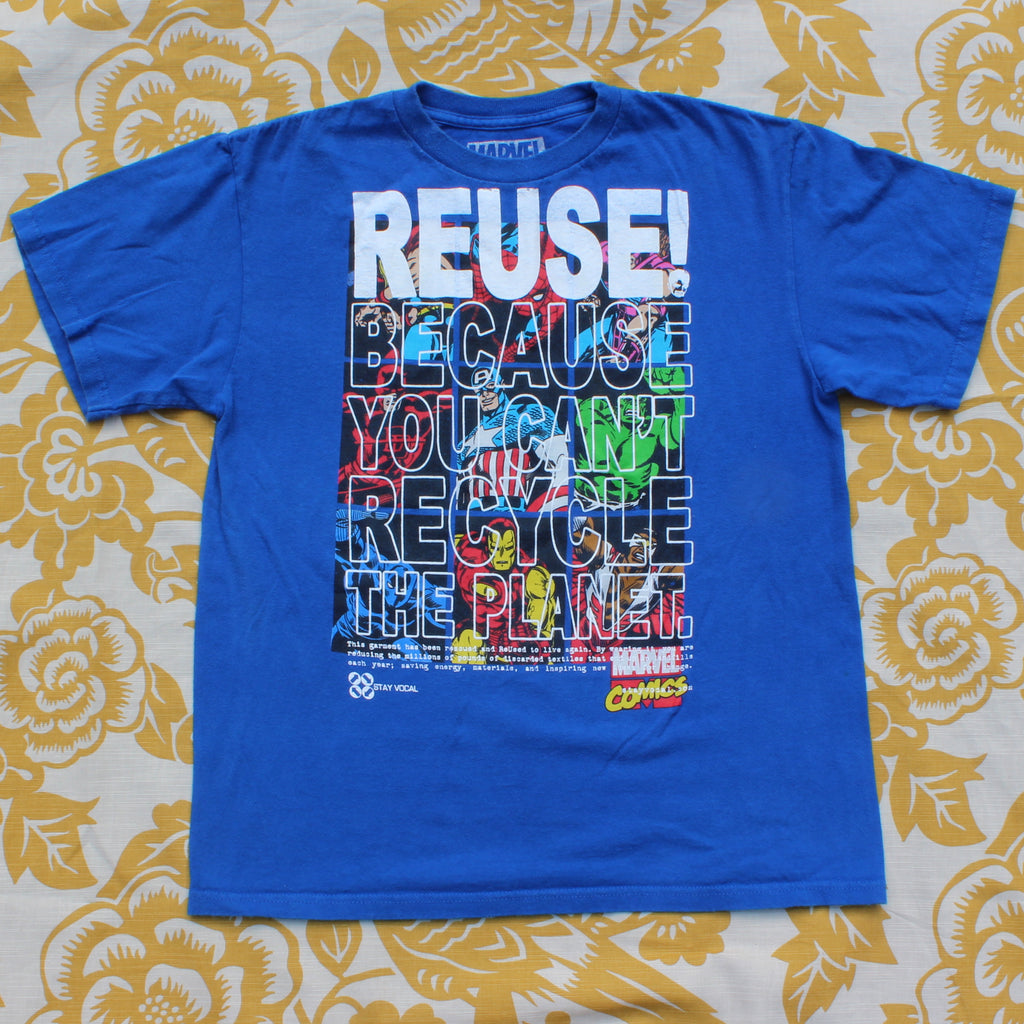 One of a Kind (Kid's XL) REUSE! Comic Dudes 9-Up T-Shirt