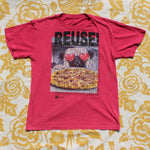 One of a Kind (Kid's XL) REUSE! Pizza Pug T-Shirt