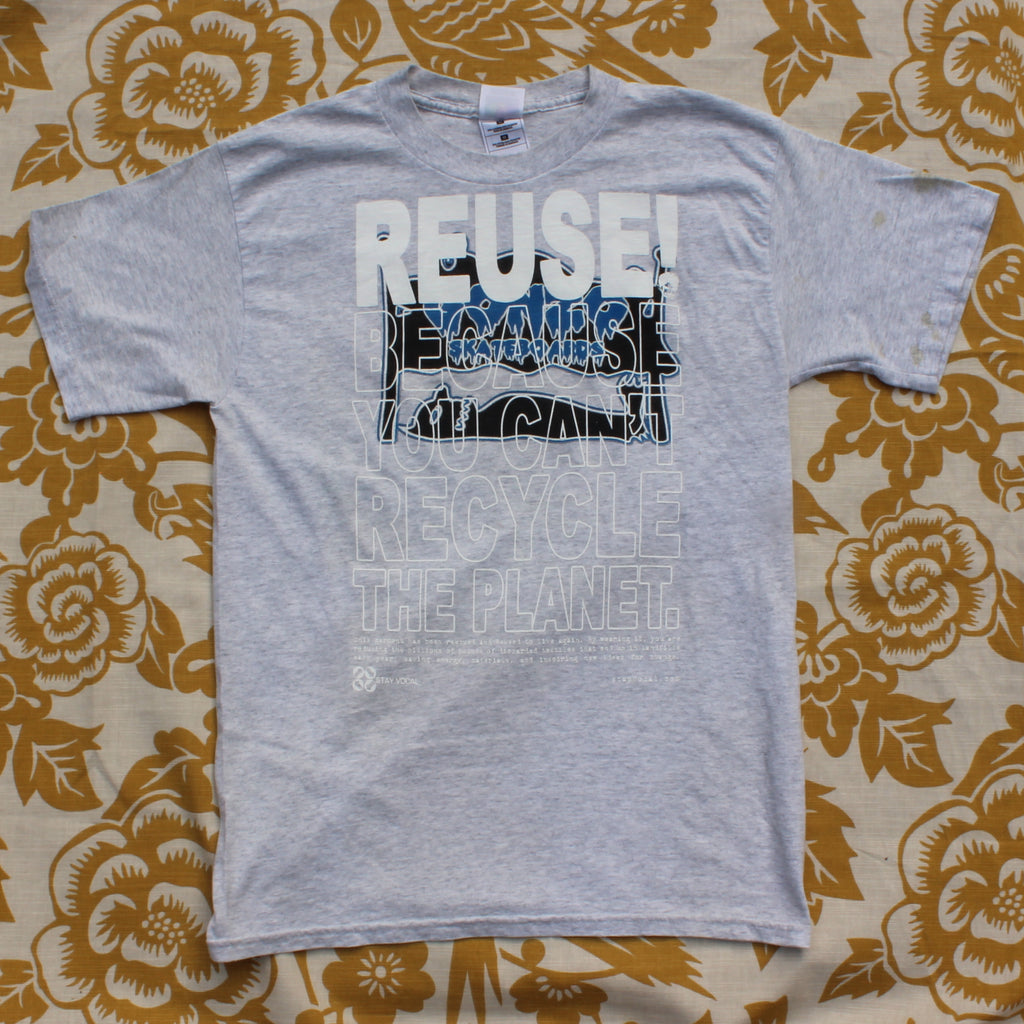 One of a Kind (Men's M) REUSE! Old School Jersey Skateboarding T-Shirt