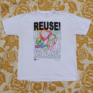 One of a Kind (Men's L) REUSE! Peace & Love in the Bahamas T-Shirt