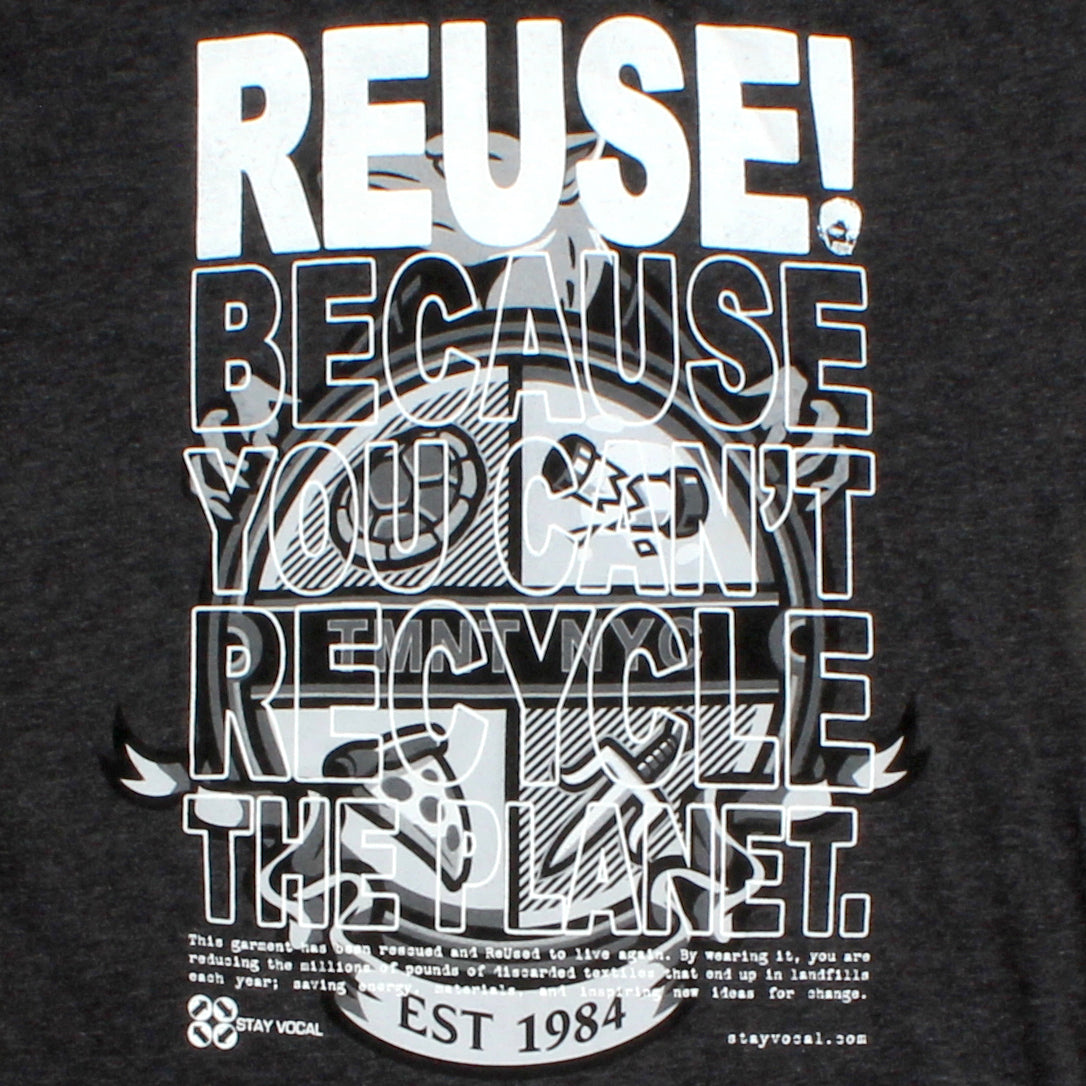One of a Kind (Men's L) REUSE! Young Reptiles Shield T-Shirt