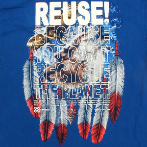 One of a Kind (Men's XL) REUSE! Wolf & Eagle T-Shirt