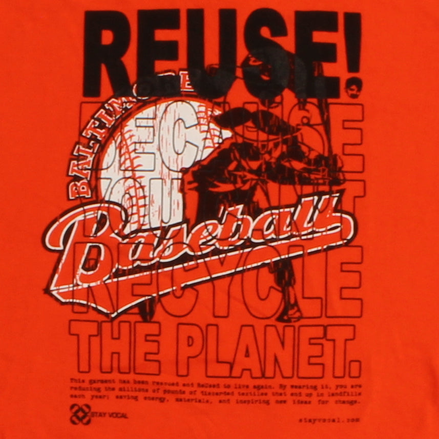 One of a Kind (Men's XL) REUSE! Baltimore Baseball T-Shirt