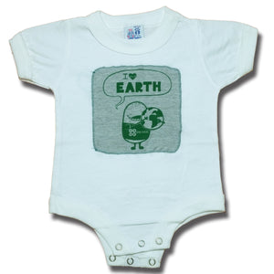 I Heart Earth Onesie