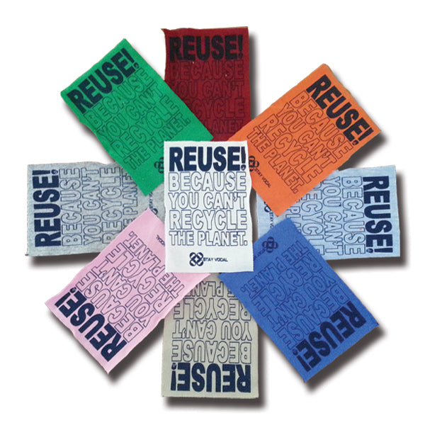 REUSE! Because You Can't Recycle The Planet. Patch