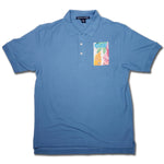 REUSE! Pattern Patch Polo