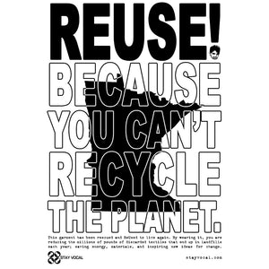 REUSE! Because You Can't Recycle The Planet. Minnesota