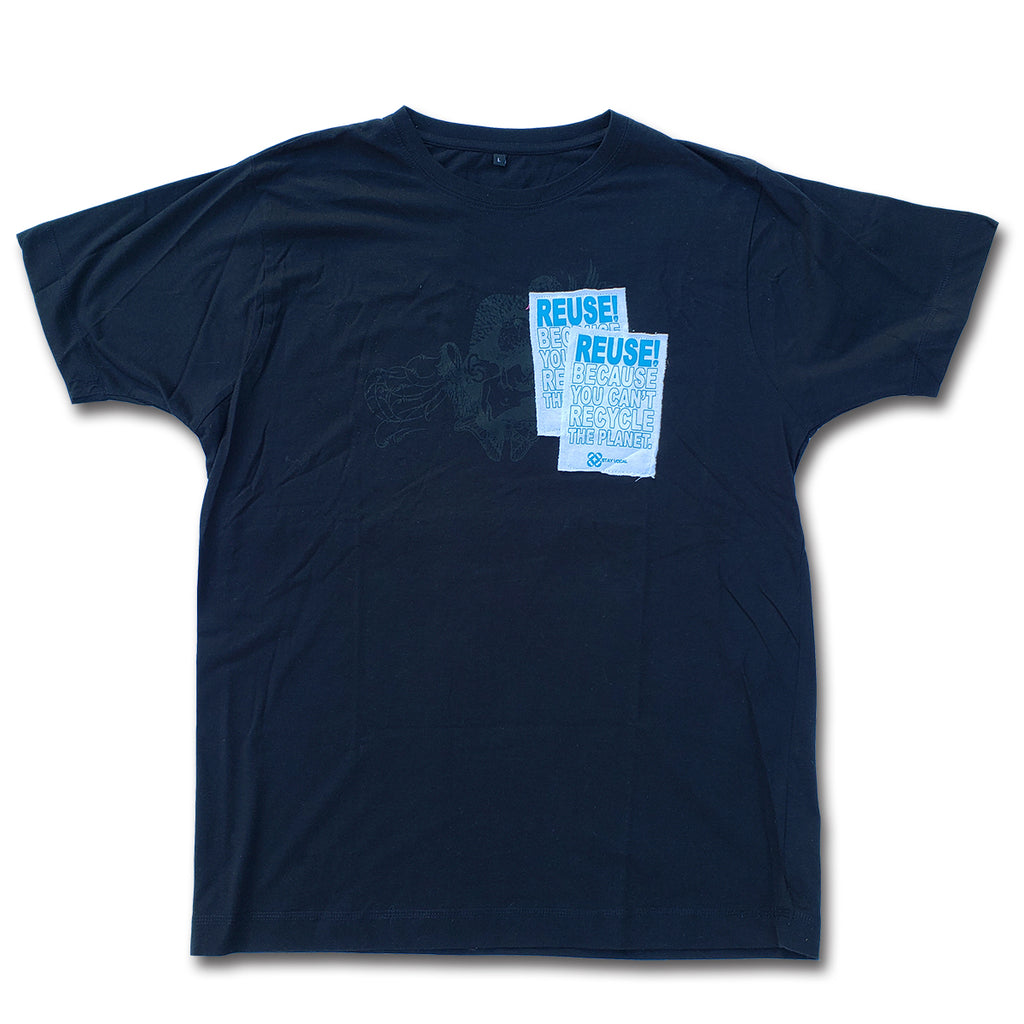 REUSE! Double Pocket Patch T-Shirt