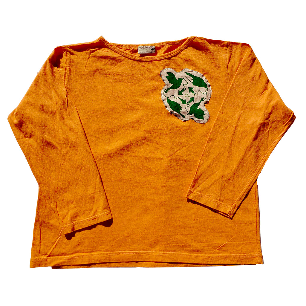 4 Birds Patch Long Sleeve T-Shirt