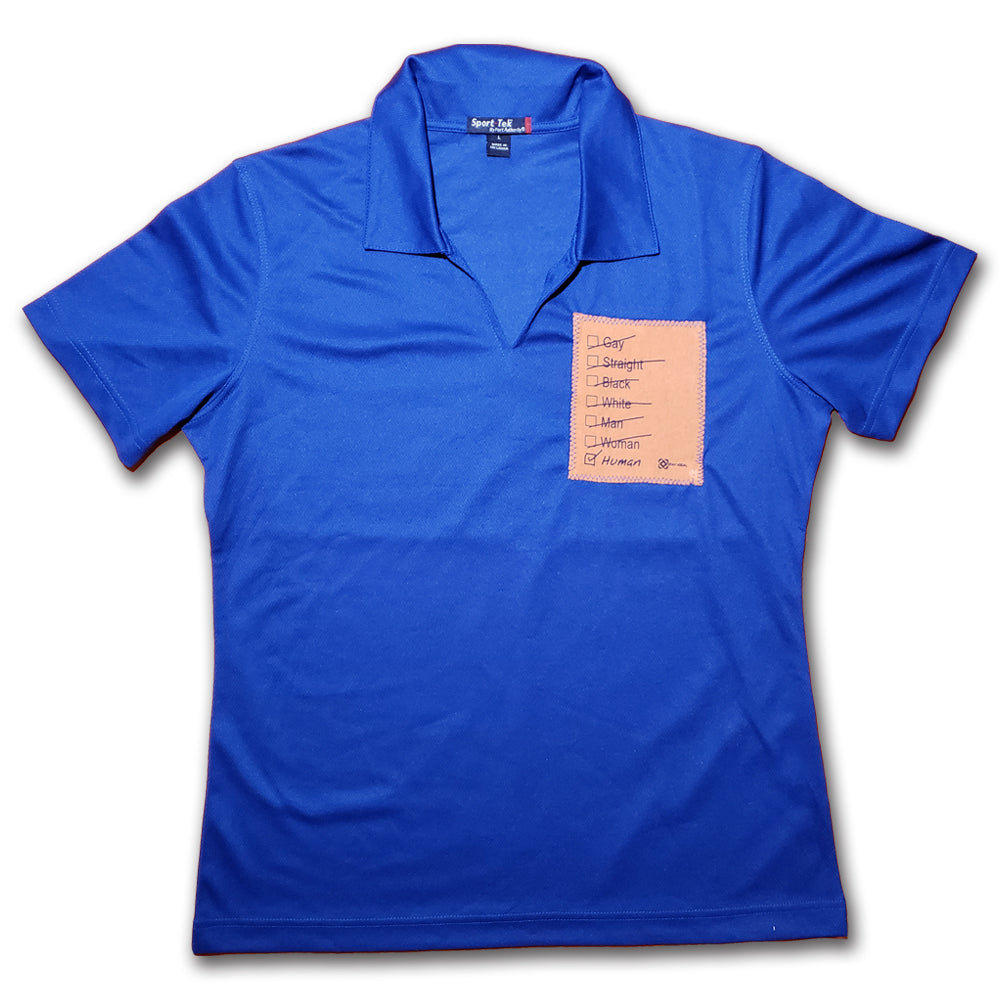 Human Patch Women's Polo