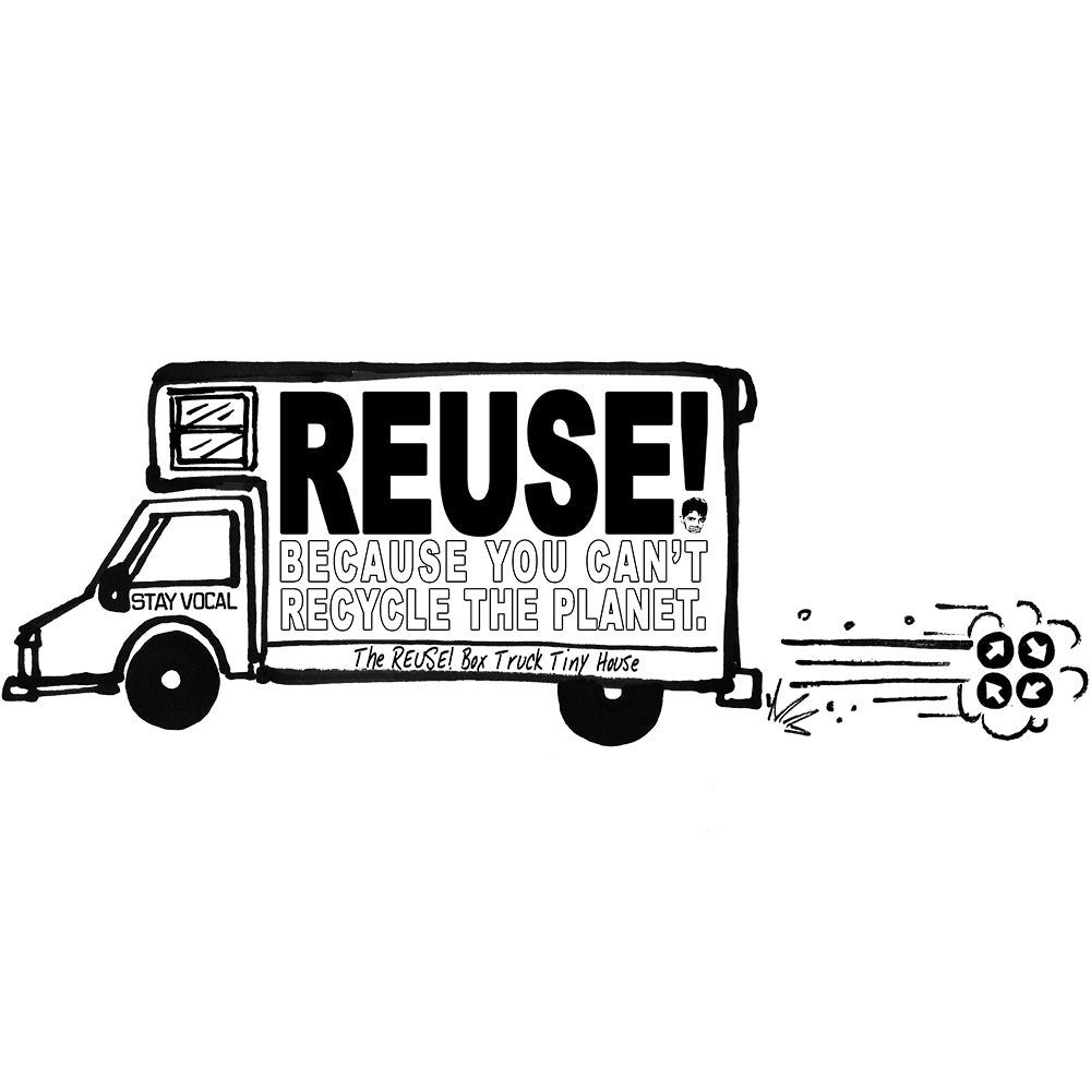 REUSE! Box Truck Tiny House Patch