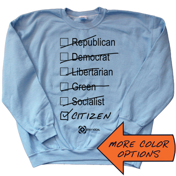 Citizen Crewneck Sweatshirt