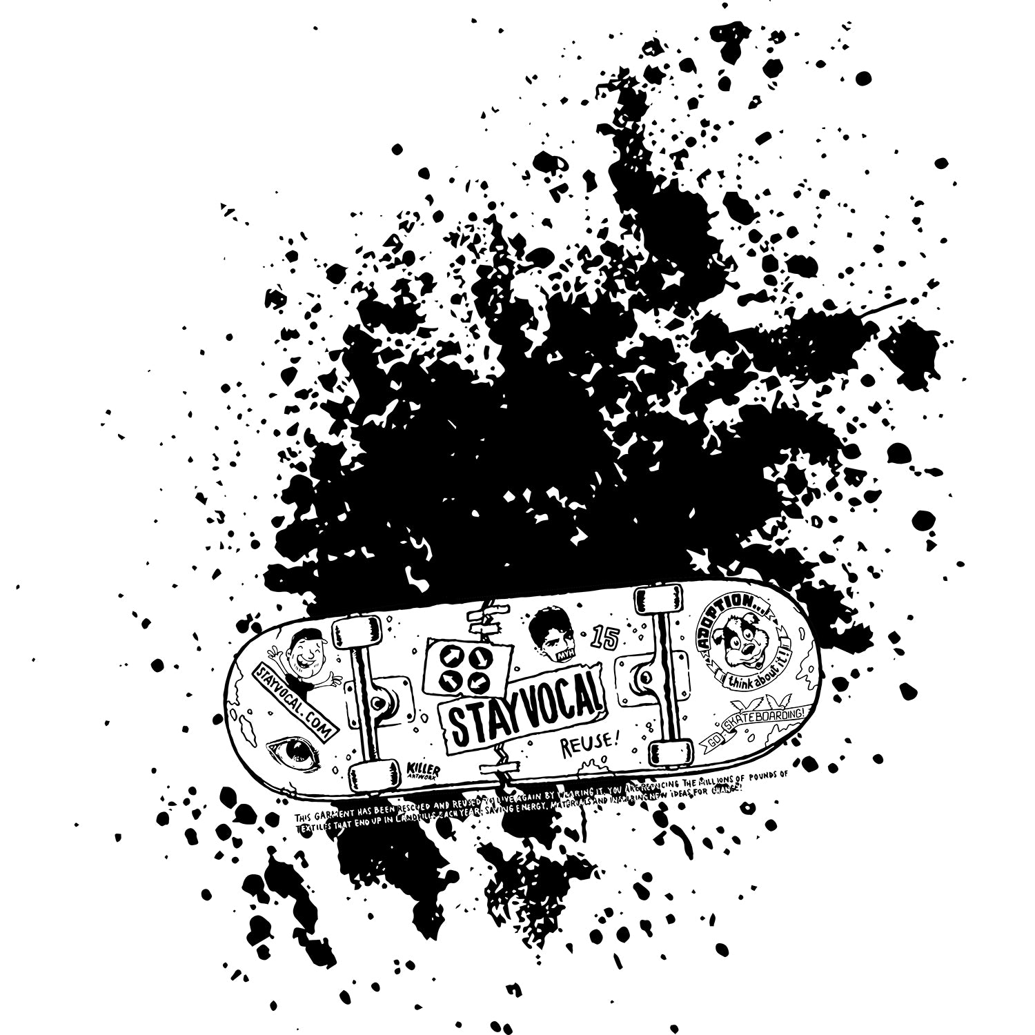 Skateboard Splatter