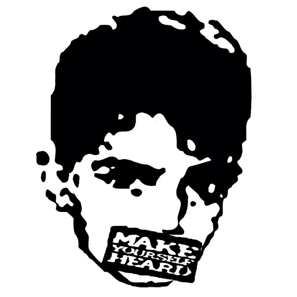 Small Make Yourself Heard Face Patch