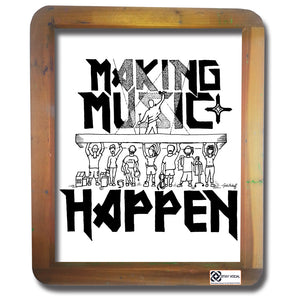 Making Music Happen: A Roadie Benefit