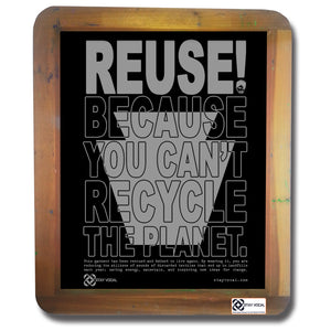 REUSE! Because You Can't Recycle The Planet. Pennsylvania