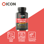 Chewable Multivitamin for Kids and Toddlers with Iron (60 Servings) - ICON Nutrition