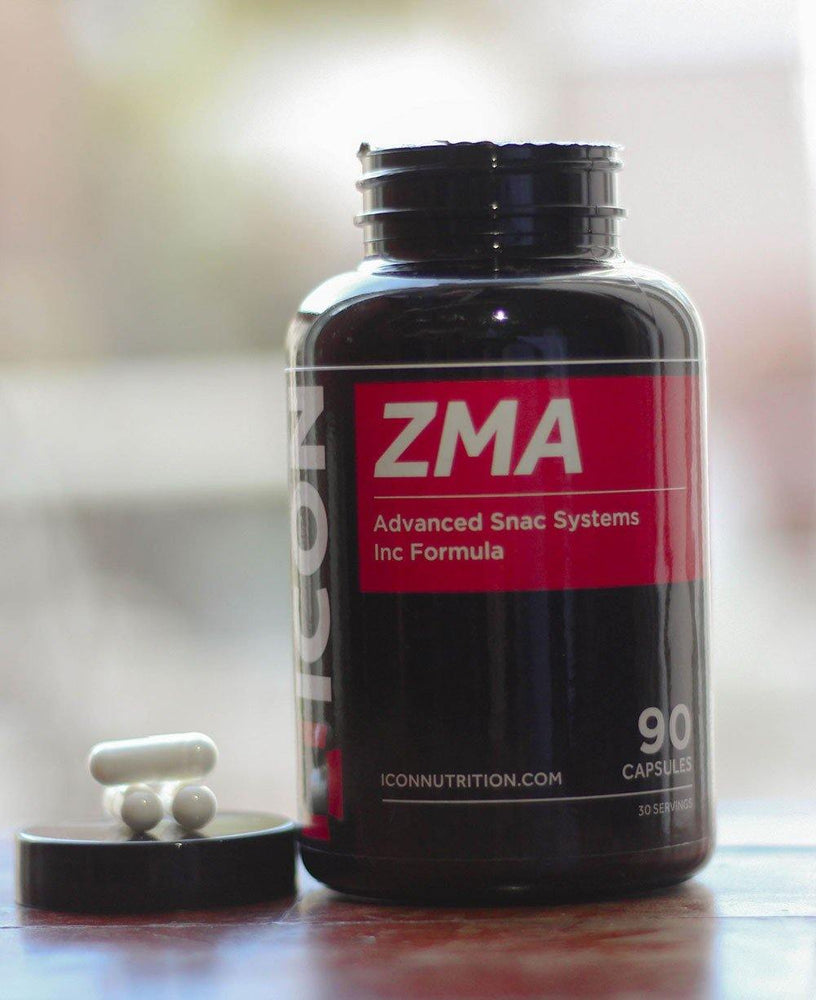 ZMA Capsules & Tablets | ZMA Supplements | ICON Nutrition