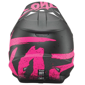CASCO DE MOTOCROSS THOR SECTOR HYPE CHARCOAL PINK 2019