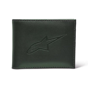 Billetera Alpinestar 2021 AGELESS LEATHER WALLET - Negro