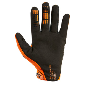 Guante Fox 2021 LEGION THERMO Naranja