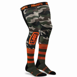 CALCETINES 100% Rev Knee Brace Performance Moto Camo Socks