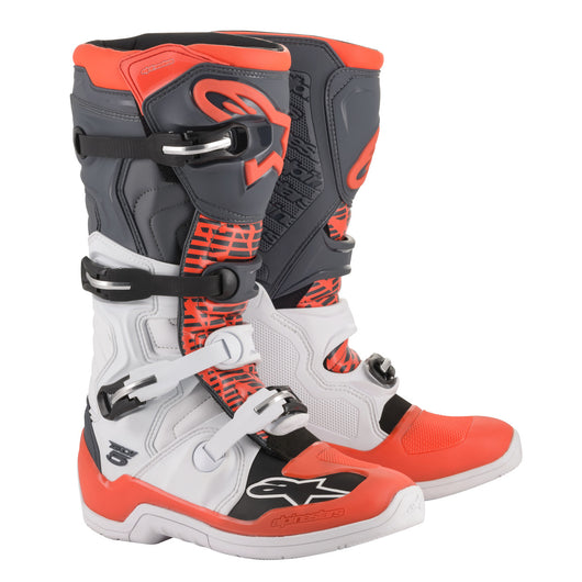 Bota Alpinestar 2021 - TECH 5 - Blanco / Rojo