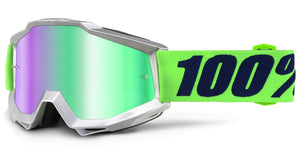 GAFAS 100% ACCURI NOVA - MIRROR GREEN LENS